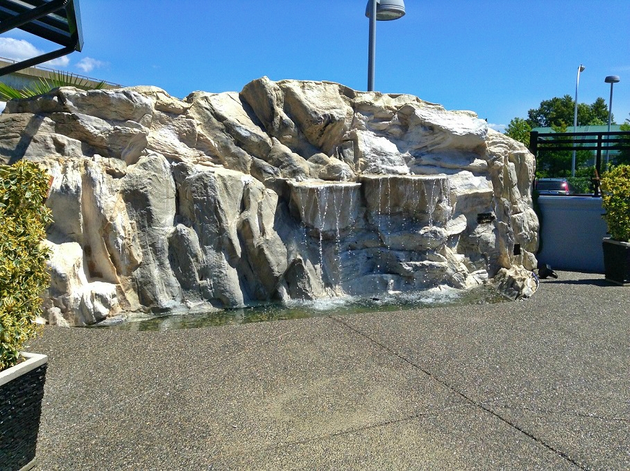 Custom Fiberglass Rock Panels Rocky Waterfall 604 724